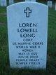 Loren Lowell Long