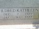 "Profile photo:  Mildred Kathleen ""Midge"" <I>Fender</I> Adkins"