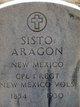 Sisto Aragon