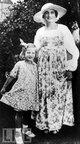 "Profile photo:  Edith Ewing ""Big Edie"" <I>Bouvier</I> Beale"