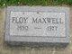 Floy Eldora <I>Wisdom</I> Maxwell