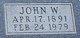 John William Garwood