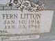 Fern Elizabeth <I>Litton</I> Mace