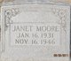 Janet Fay Moore
