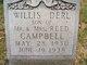 Willis Derl Campbell