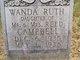 Wanda Ruth Campbell