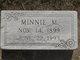 Minnie Maude <I>Gore</I> McMillan
