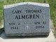 Profile photo:  Gary Thomas Almgren