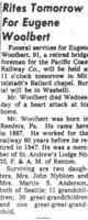 Eugene R Woolbert