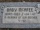 "Profile photo:  ""Baby"" McAfee"