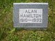 Profile photo:  Alan Hamilton