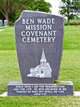 Ben Wade Mission Covenant Cemetery