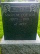 Mary M Doetch