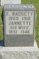 Jannette Ann <I>Allen</I> Baggett