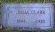 Julia Agnes <I>Munley</I> Clark
