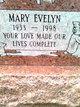 Profile photo:  Mary Evelyn <I>Simmons</I> Bowen