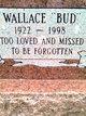 """Profile photo:  Wallace Edwin """"Bud"""" Bowen"""