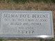 Selma Faye <I>Caplan</I> Berent