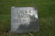 Profile photo:  Lula E. <I>Sanford</I> Bacon