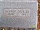 George Dick, Sr