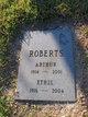 Profile photo:  Arthur Roberts