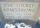 Profile photo:  Eva Eunice <I>Lockey</I> Armstrong