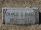 Charlie E Baker