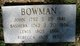 "Basheba ""Bashiby"" <I>Hooper</I> Bowman"