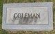 Profile photo:  Coleman