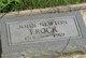 John Newton Frock