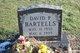 Profile photo:  David P. Bartells
