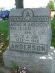 Profile photo:  Archie Anderson