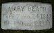Mary Taylor <I>Harned</I> Beach