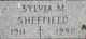 Sylvia Mae <I>Ossman</I> Sheffield