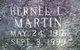 Bernel L Martin