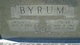 Grady M Byrum