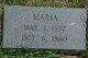 Maria <I>Evans</I> Fisher