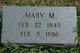 Mary McClish <I>Thompson</I> Fisher