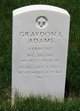 PFC Graydon L Adams