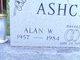 Profile photo:  Alan W. Ashcraft