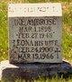 Mary Leona <I>Coomes</I> Ambrose