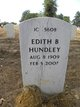 Profile photo:  Edith B Hundley