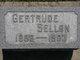 "Profile photo:  Gertrude Pearl ""Gertie"" <I>Bowling</I> Sellon"
