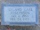 Profile photo:  Leland Carl Josephsen