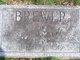 Nellie E. <I>Silver</I> Brewer