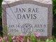 Jan Rae Davis