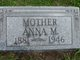 """Profile photo:  Anna M """"Mother"""" Mayes"""