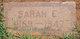 """Sarah Elizabeth """"Burnes"""" <I>Welch</I> Schoolcraft"""