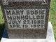 Mary Susie <I>Walker</I> Munhollon