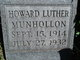 Profile photo:  Howard Luther Munhollon